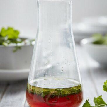 Fruchtiges Salatdressing mit Gelinggarantie