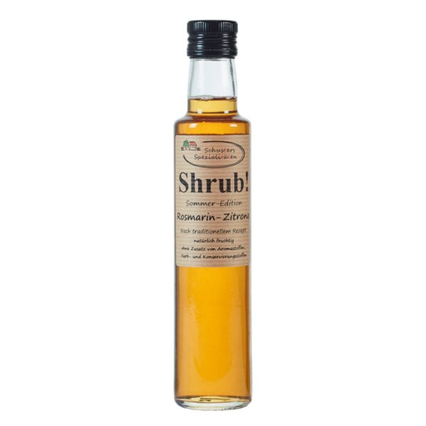 Shrub! Rosmarin Zitrone 250ml