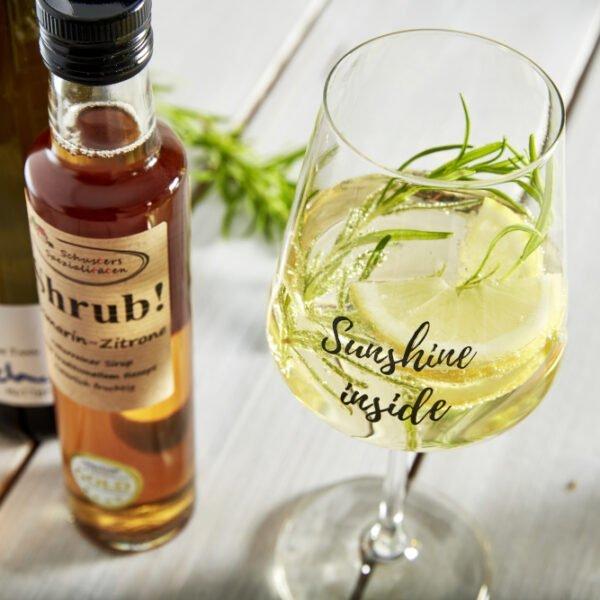 Shrub meets Wein